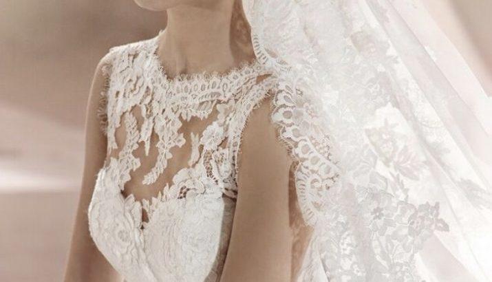 Brudekjole med den smukkeste ryg