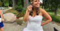 Lasse Spangenberg brudekjole sælges