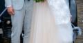Eventyriske brudekjole til salg