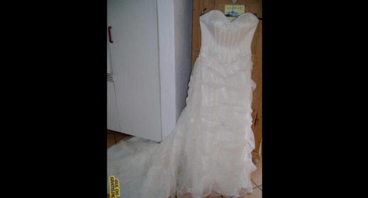 Glamour brudekjole