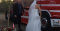 Lilly brudekjole med halterneck