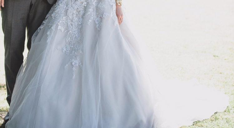 Eventyrlig brudekjole