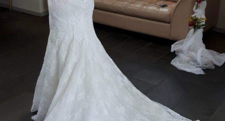 Smuk brudekjole