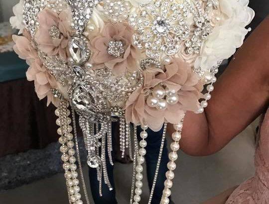 Speciel lavet brudebuket