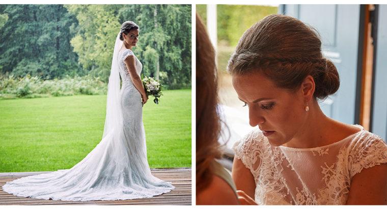 Smuk havfrue brudekjole fra CPH Bridal
