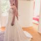 Smuk Lilly blonde brudekjole inkl. underskørt
