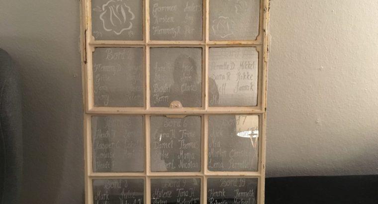 Antikt vindue