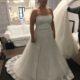 Plus size flot brudekjole fra 2018.