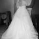 Smuk prinsessekjole, renset og klar til næste bryl