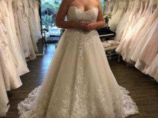 Maggie sottero brudekjole