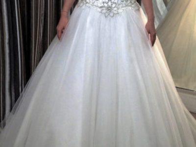Super smuk og ubrugt brudekjole
