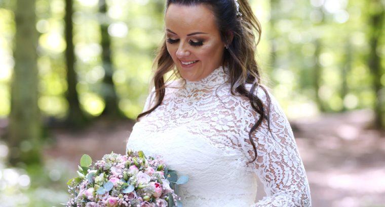 Smukkeste Rikke Gudnitz brudekjole til salg