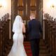 Brudekjole, underskørt og bælte