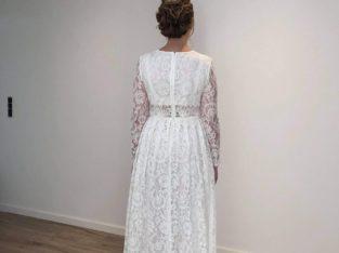 Smuk brudekjole Str 40-42