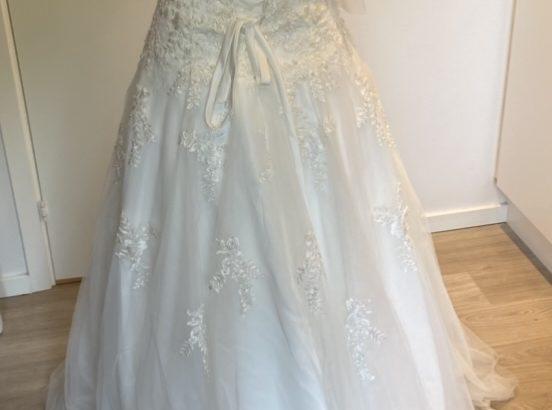 Helt ny smuk brudekjole
