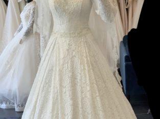 Sælger min brudekjole, stadig som ny