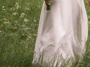 Skøn brudekjole