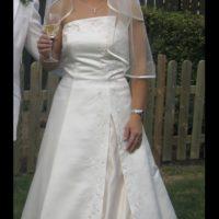 Meget smuk brudekjole fra Amor på Frederiksberg. Skal ses!