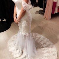 Specieldesignet brudekjole
