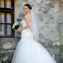 Brudekjole str 36