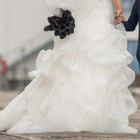 Unik brudekjole