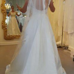 Luxux brudekjole Str 38
